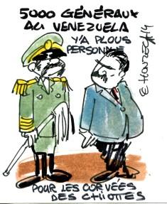 venezuela militairesrené le honzec