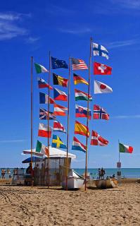 Drapeaux européens Credit  Christophe Toffolo (Creative Commons)