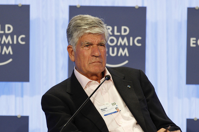 Maurice Levy - World Economic Forum (Creative Commons)
