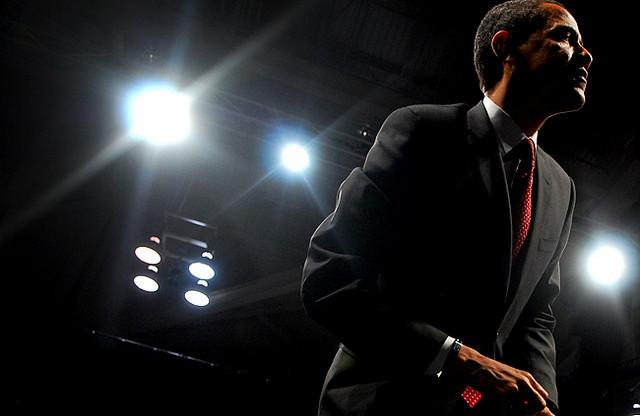 Obama at the John S. Knight Center Credit Beth Rankin (CC)