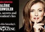 Révélations de Trierweiler au Times : son hospitalisation en janvier 2014 aurait été planifiée par l'Élysée