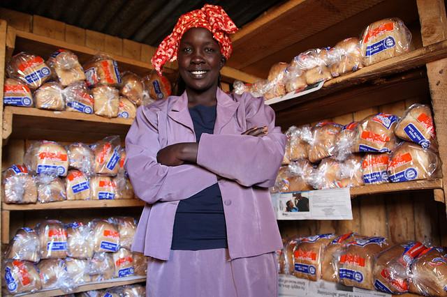Microcrédit Afrique Lina Limo - licence CC crédits Hodaq