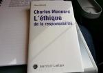 Charles Monnard et l'éthique de la responsabilité