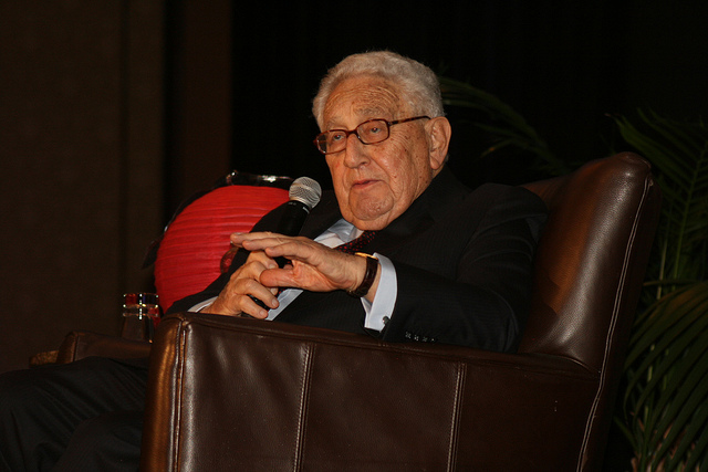 Henry Kissinger credits Yevkusa (licence creative commons)