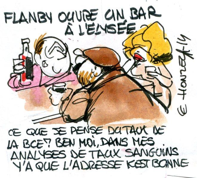 Hollande à l'écoute des Français rené le honzec