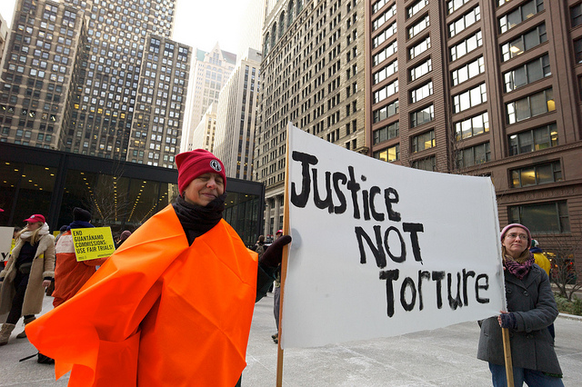 Justice not Torture credits Debra Sweet (licence creative commons)