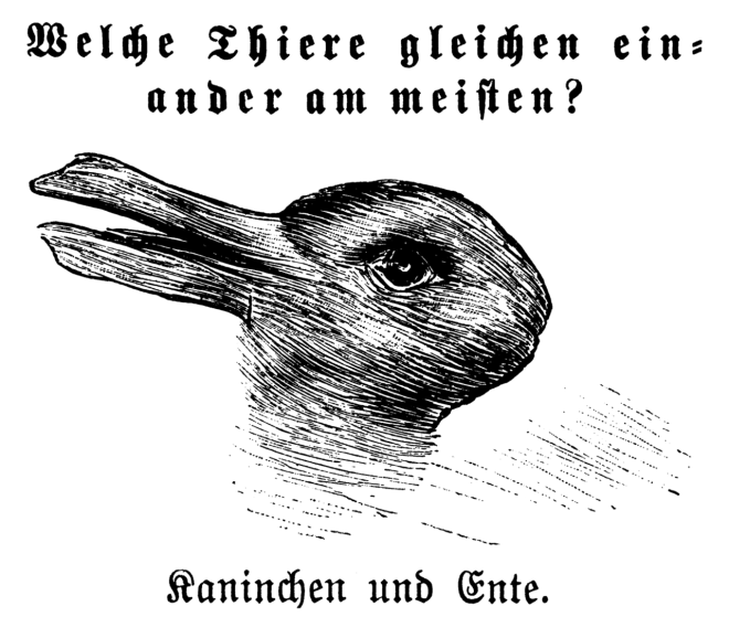 Kaninchen_und_Ente libre de droits