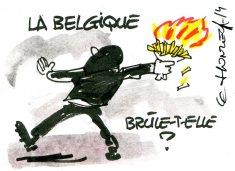 La belgique brûle-t-elle René Le Honzec