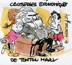 Marx Hollande Mélenchon René Le Honzec