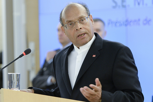 Moncef Marzouki Human Rights Council Credit UN Geneva (Creative Commons)