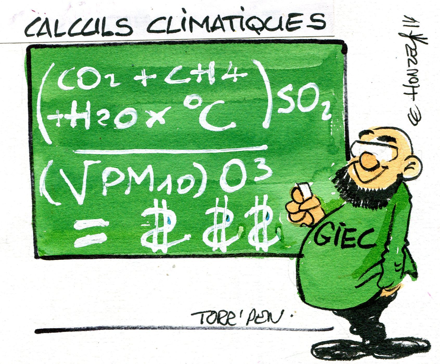 Réchauffement climatique (Crédits : René Le Honzec/Contrepoints.org, licence Creative Commons)