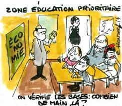 Et une nouvelle réforme de l'éducation, et une !