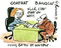 contrat banque rené le honzec
