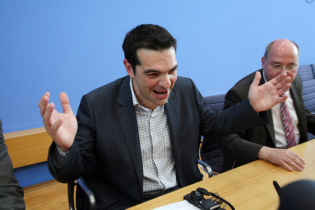 Alexis Tsipras - Credit Die Linke (Creative Commons)