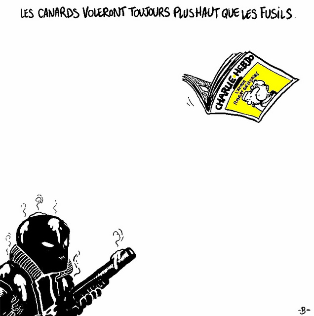 Charlie Hebdo credits KL Poggeman (licence creative commons)