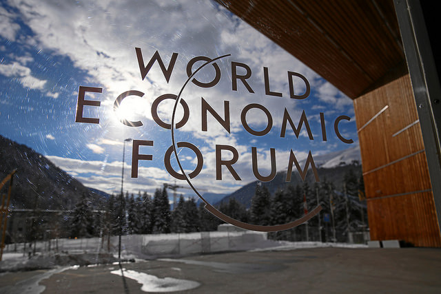 Forum économique de Davos 2015 - Credit World Economic Forum (Creative Commons)