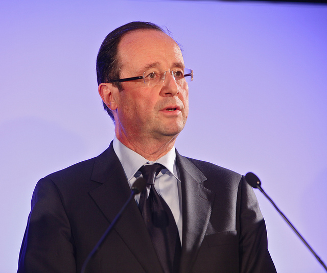 François Hollande Credit Photo Mathieu Delmestre  Solfé Communications (Creative Commons)