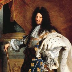 Louis XIV (Image libre de droits)