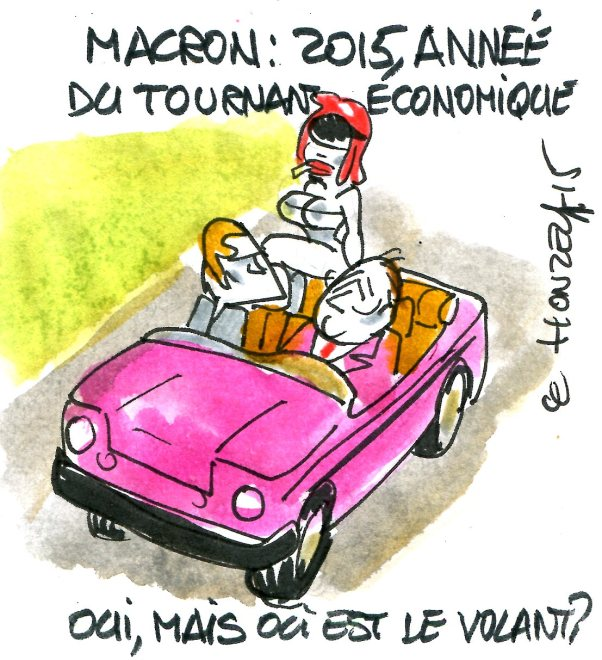Macron René le Honzec