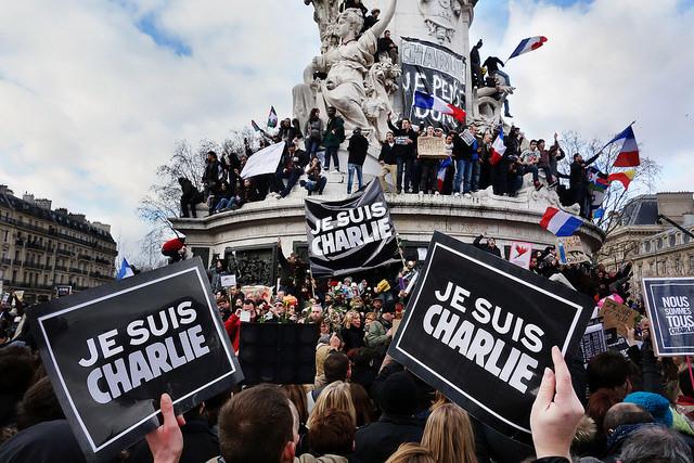 Manifestation 11 janvier 2015 Charlie Hebdo Credit Olivier Ortelpa