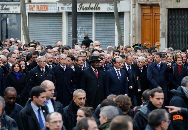 Manifestation républicaine du 11 janvier 2015 Credit francediplomatie (Creative Commons)