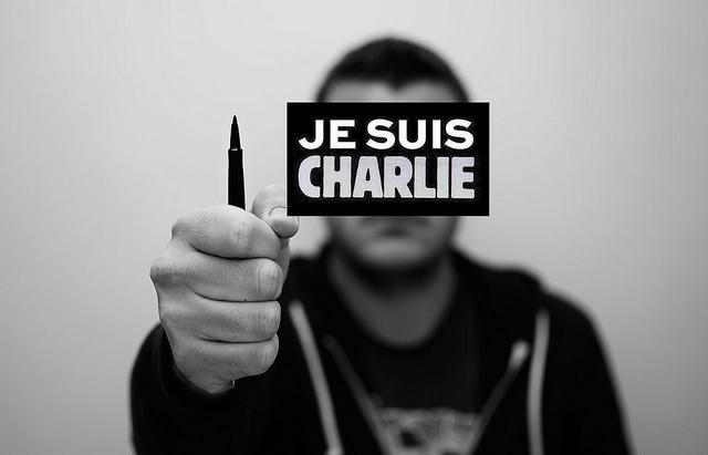 Nous sommes tous Charlie Credit  blackwarrior57 (Creative Commons)