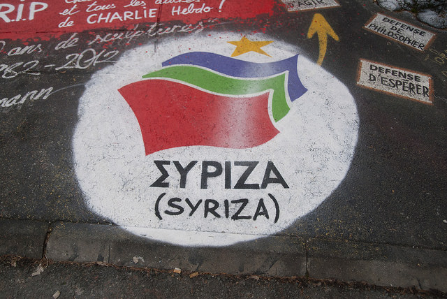 Syriza Credit  thierry ehrmann (Creative Commons)
