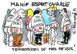 Manifestation esprit Charlie