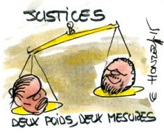 deux poids deux mesures justice rené le honzec
