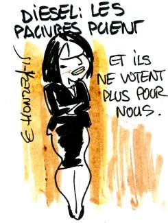 Diesel à Paris : les pauvres puent ?