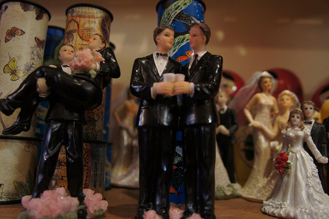 mariage homo credits Peetje2 (licence creative commons)