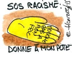 sos racisme rené le honzec
