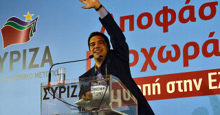 Alexis Tsipras Syriza (Crédits : Asteris Masouras, licence Creative Commons CC-BY-NC).