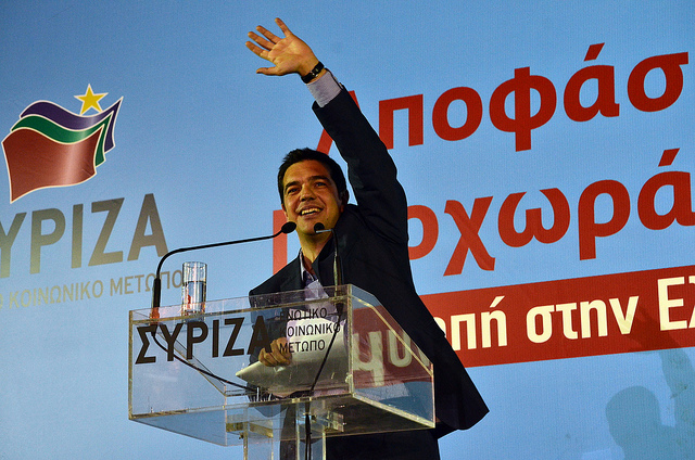 Alexis Tsipras Syriza (Crédits : Asteris Masouras, licence Creative Commons CC-BY-NC)