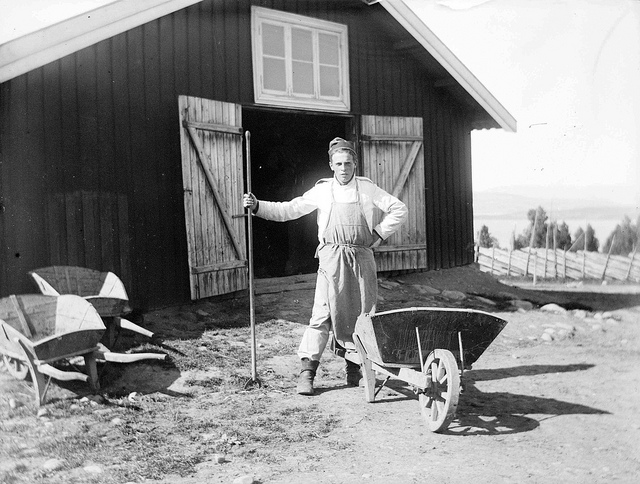 Andreas Moe at camp Starum credits Municipal archives of Trondheim (CC BY 2.0), publié d'abord sur Flickr