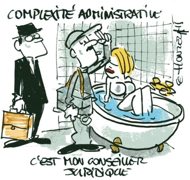 Complexité administrative René Le Honzec - contrepoints 238