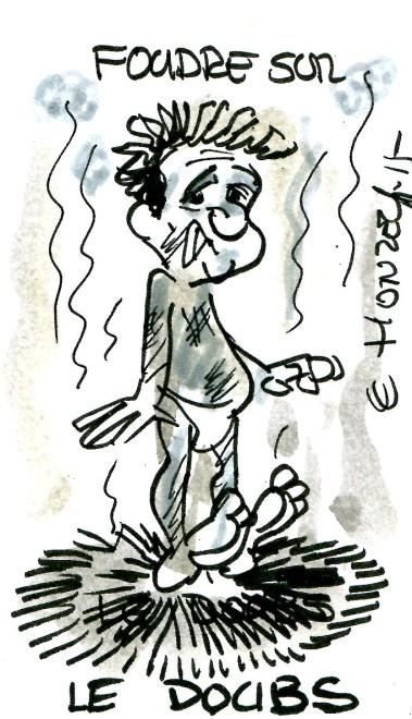 Coup de foudre sur le Doubs - René Le Honzec - contrepoints 187