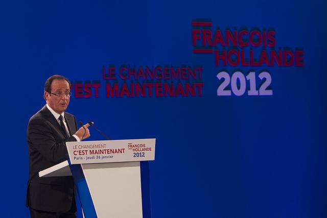 François Hollande credits Parti socialiste (CC BY-NC-ND 2.0)