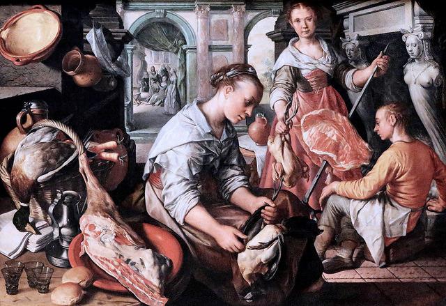 Joachim Beuckelaer (ou Bueckelaer) . 1534-1574. Anvers. credits JL Mazières (CC BY-NC-SA 2.0)