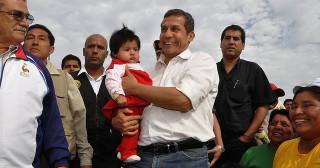 Le président de la République du Pérou, Ollanta Humala, accumule les échecs