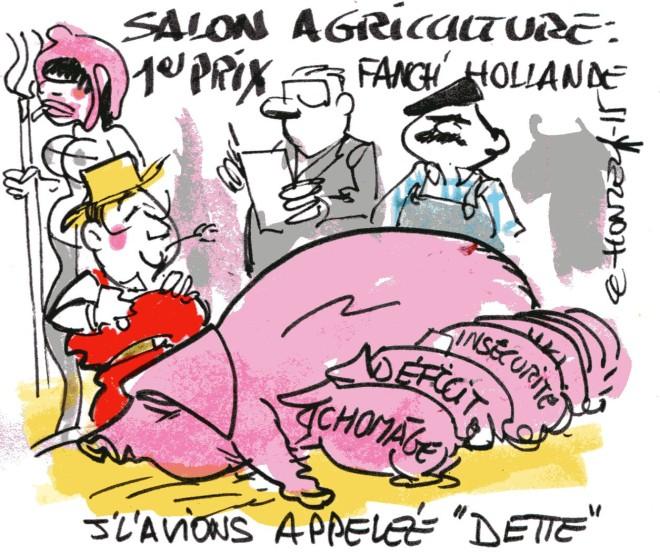 Salon de l'agriculture - René Le Honzec - contrepoints 236