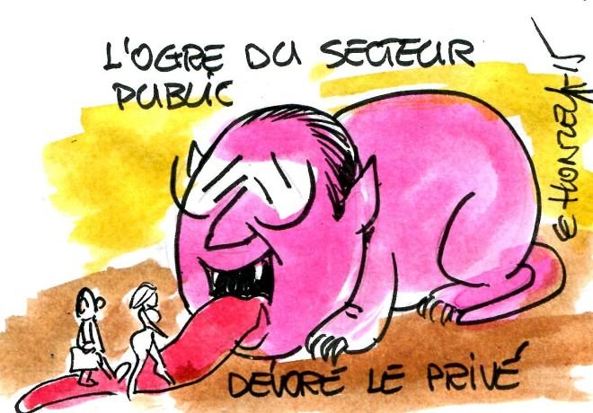 Secteur Public - René Le Honzec - contrepoints 197
