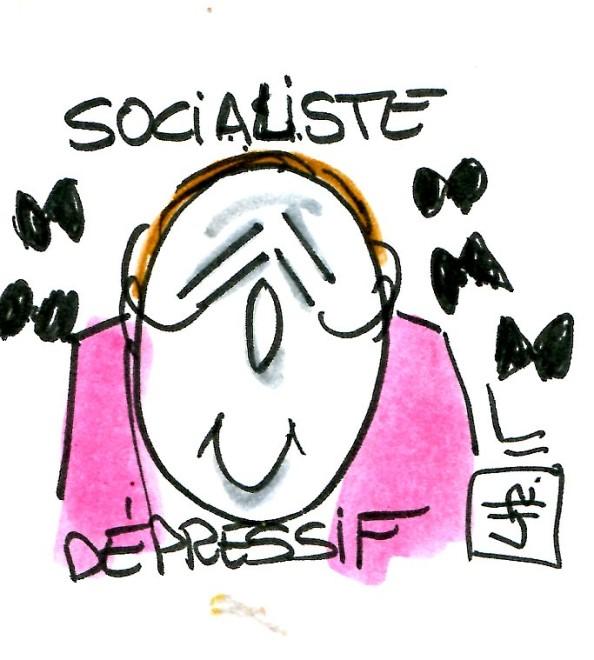 Socialiste dépressif - René Le Honzec - contrepoints 186