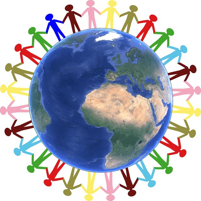 Solidarité - Main dans la main - Public Domain