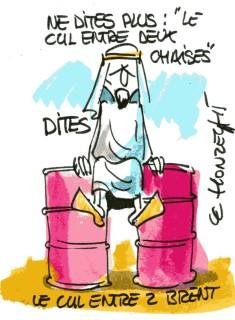 baril pétrole rené le honzec