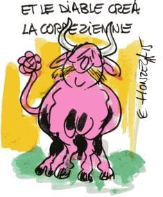 hollande vache rené le honzec
