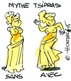 mythe tsipras rené le honzec