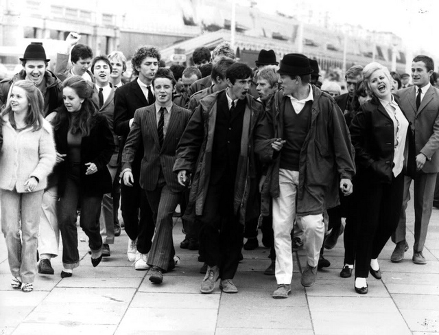 Youth Culture - Mods & Rockers 1960s - 1970s credits Paul Townsend (CC BY-NC 2.0)