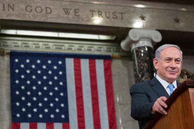 B Netanyahu credits John boehner  (CC BY-NC 2.0)