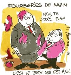 Michel Sapin René  Le Honzec